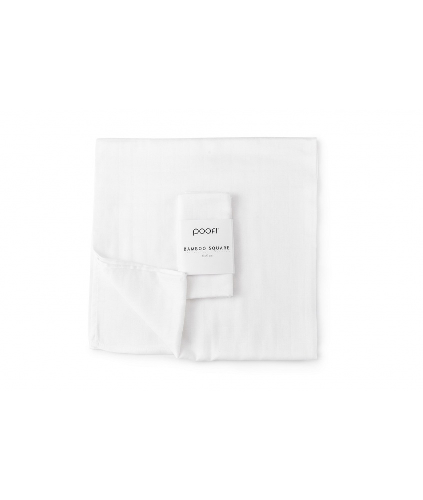 2-pack bamboo square 73x73cm color: cream
