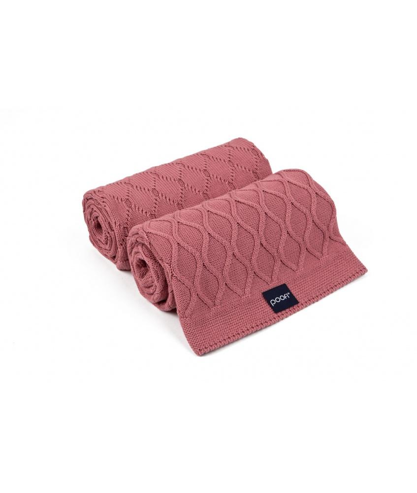 Knit blanket double knit...