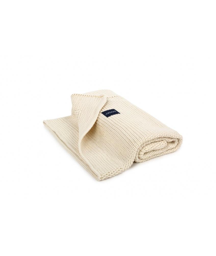 Kocyk tkany Classic Organic kolor: kremowy