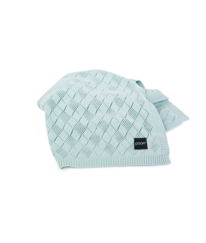 Openwork Knit Blanket:...