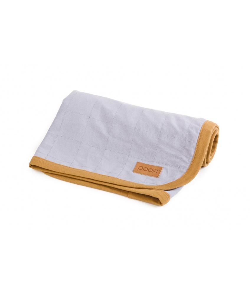 Organic Cotton Blanket color: grey