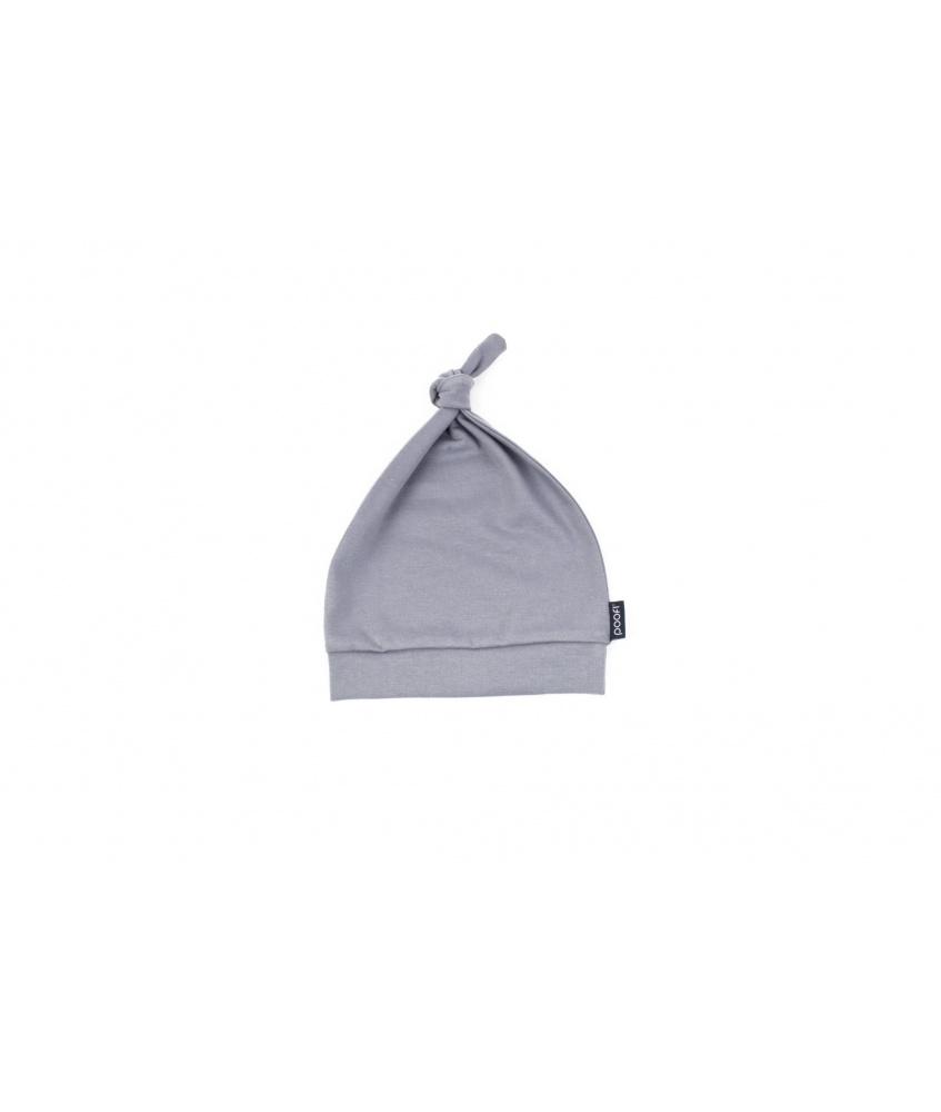 Baby cap Organic 0-2m color: grey