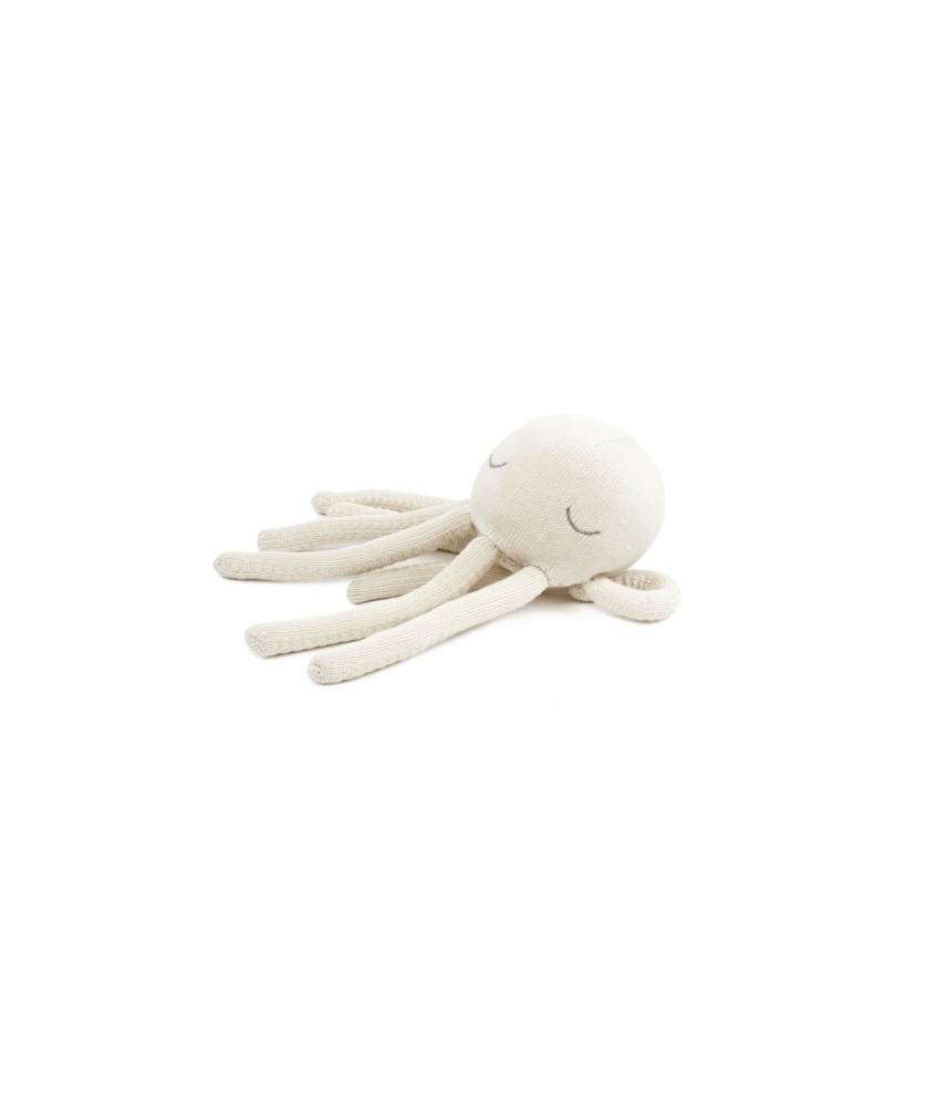 Octopus Cuddle Toy size S color: cream