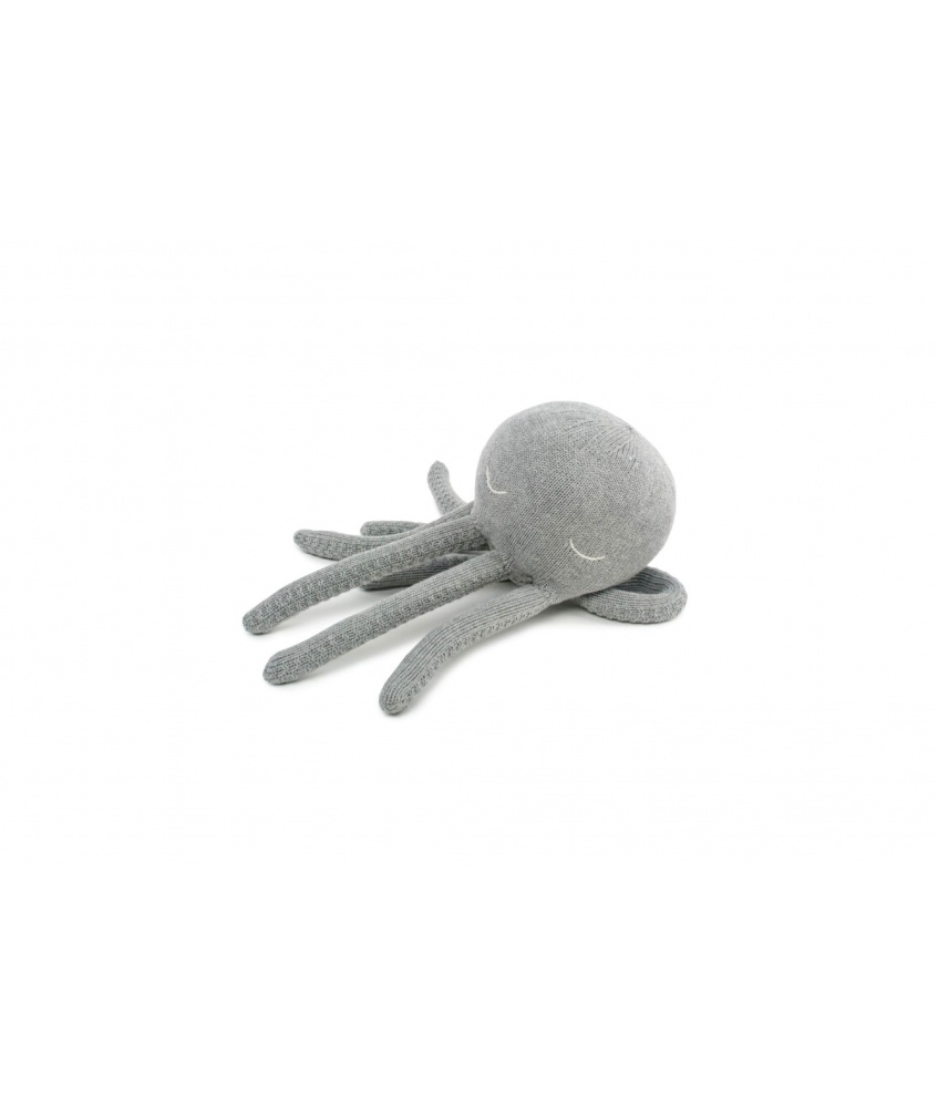 Octopus Cuddle Toy size S color: grey
