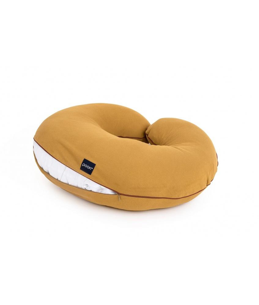 Pokrowiec na poduszkę do karmienia Organic kolor: musztardowy