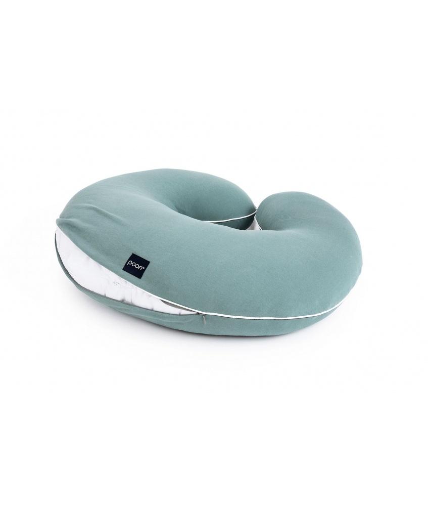 Pillowcase for Organic nursing pillow color: petrol