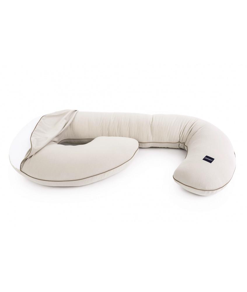 Pokrowiec na poduszkę ciążową Oranic kolor: latte