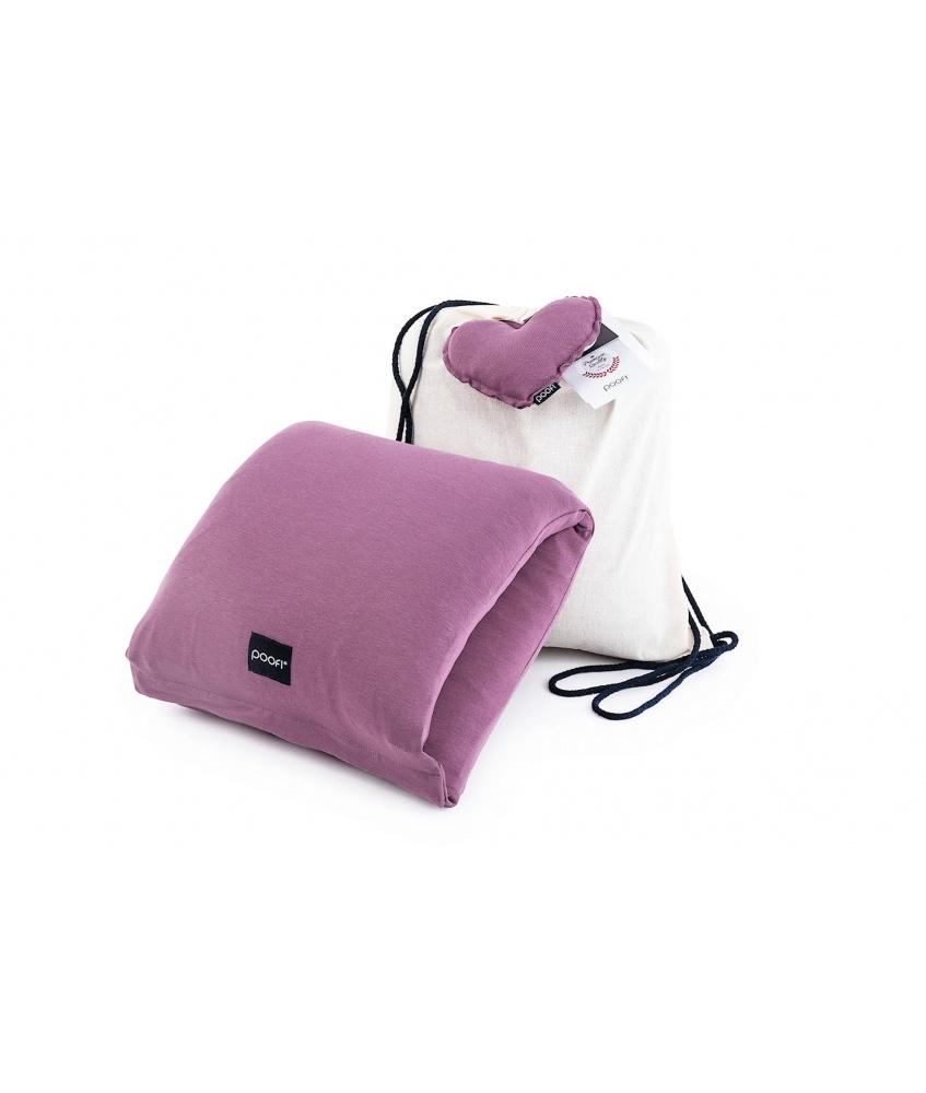 Poduszka do karmienia na rękę kolor: fiołkowy