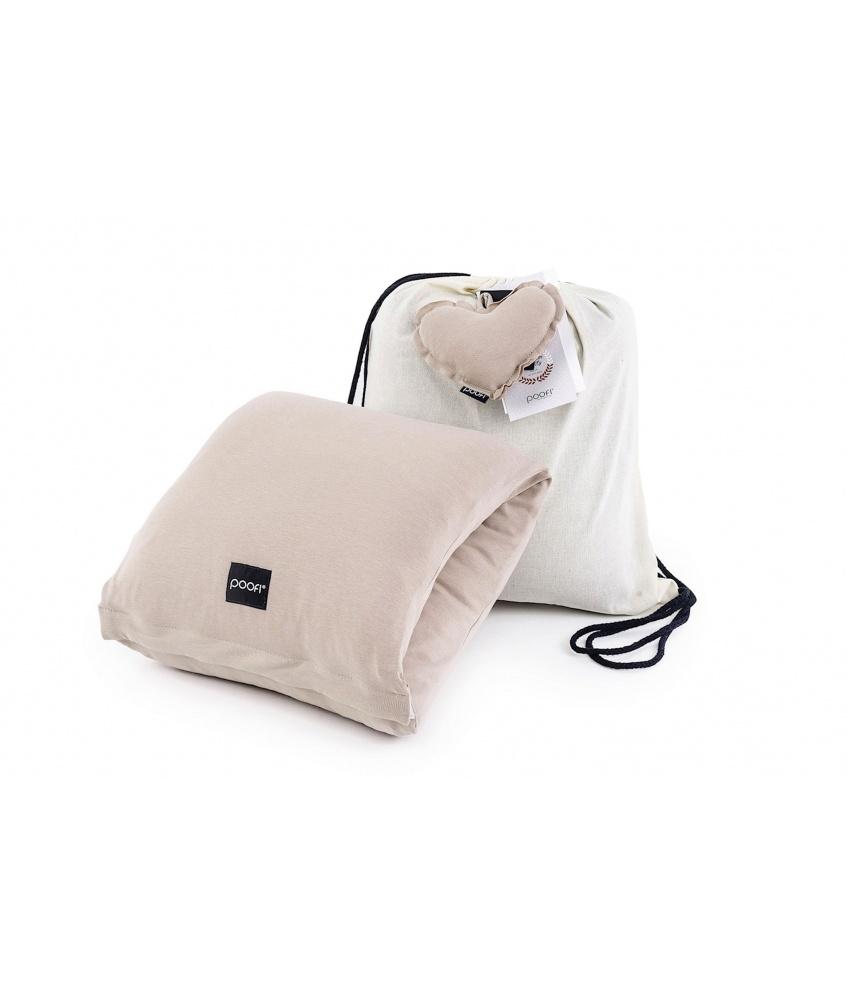 Poduszka do karmienia na rękę kolor: nugat