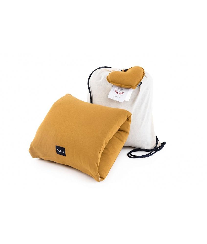 Poduszka do karmienia na rękę kolor: musztardowy