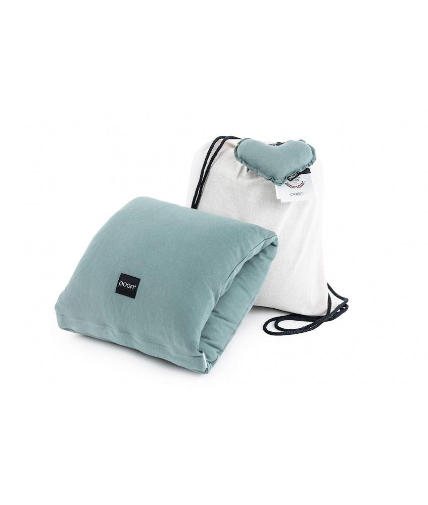 Nursing pillow - arm band color: petrol