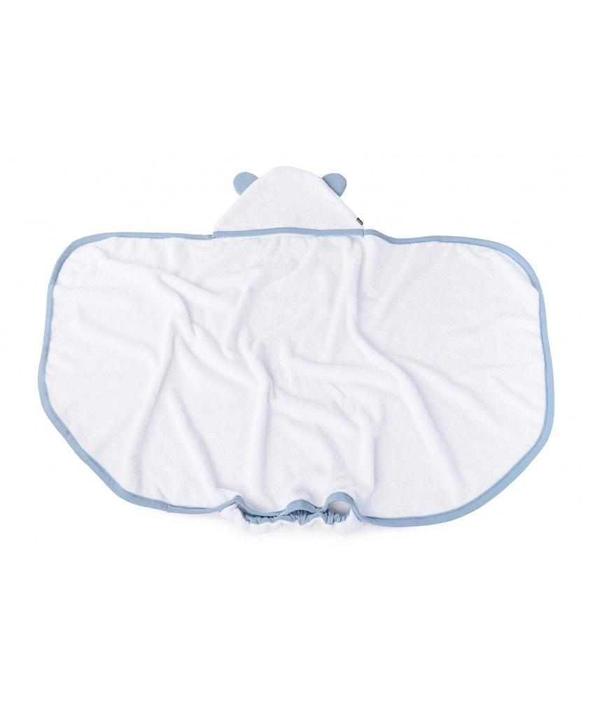 Towel Teddy color: dusty blue